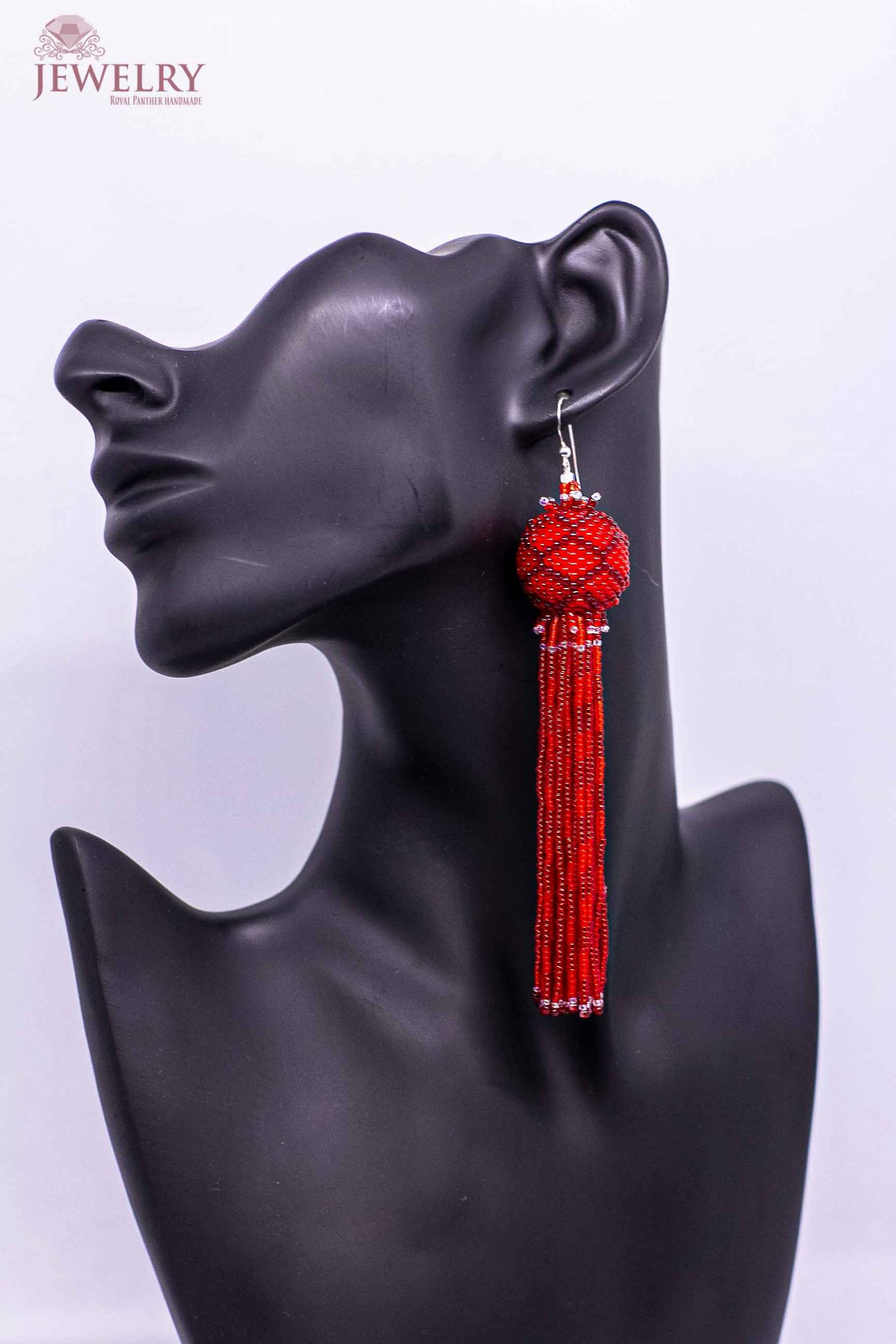 unique red jewelry