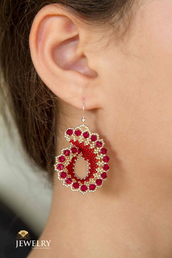handcrafted earring for summer