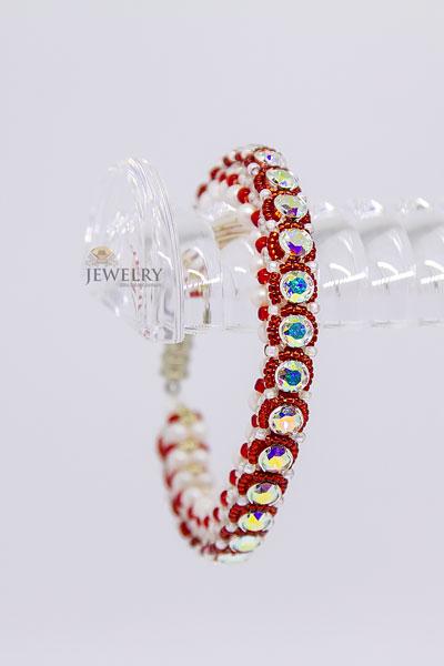 sparkly beaded bracelets