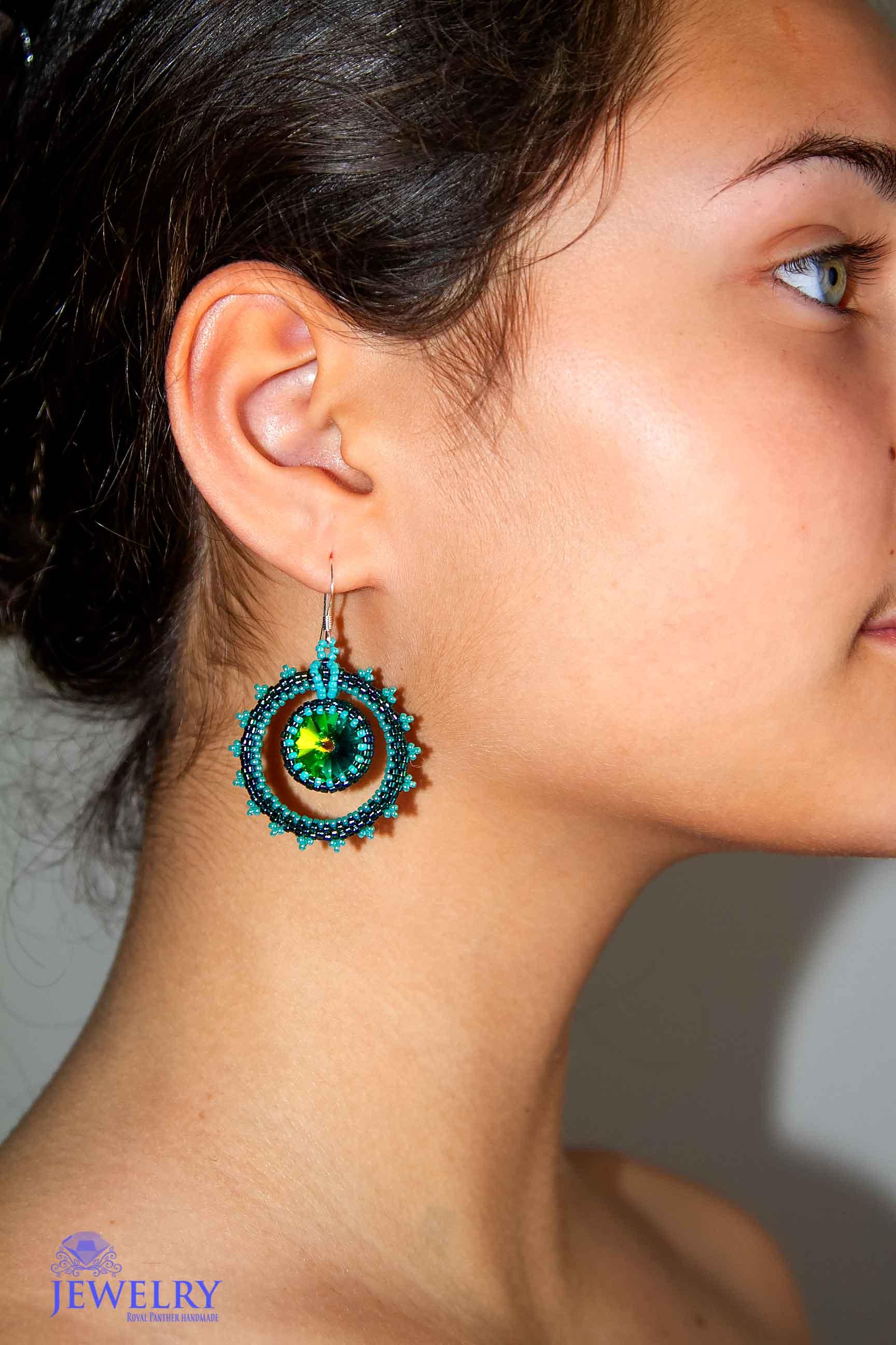 Fancy earrings